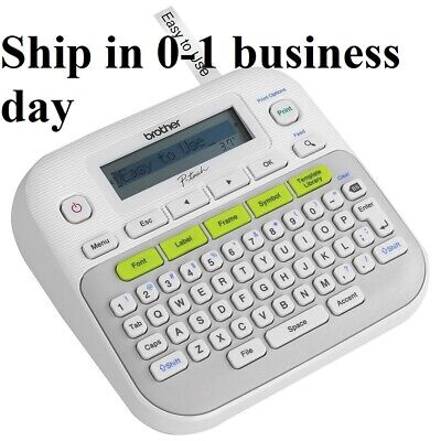 New Brother P-TOUCH Easy Compact Label Maker /PRINTER System PT-D210 Fonts Style
