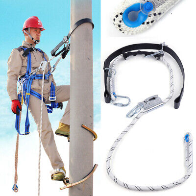 Aerial Construction Fall Protection Harness Belt Climbing Safety Belt Strap Usa