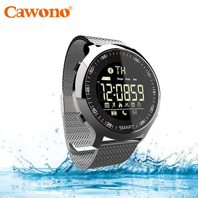 Melodious Bluetooth Smart Watch Phone Husband Steel Band Wristwatch For iphone Android