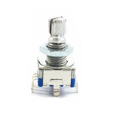 10 X Ec11 15mm Shaft Rotary Encoder With Switch Audio Digital Potentiometer New