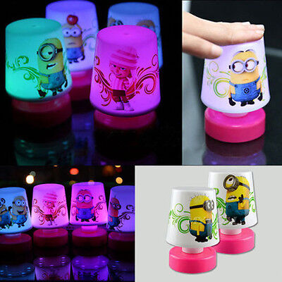 New Minions Pat Design LED Changing Table ...
