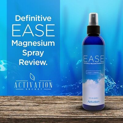Pain Ease Spray (Activation Products - EASE Magnesium Spray For Joint and Muscle Pain, Leg Cramps )