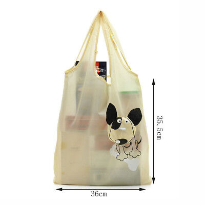 Cute Reusable Grocery Bags (Reusable Foldable Eco Recycle Grocery Travel Bag Shopping Carry Bags Tote)