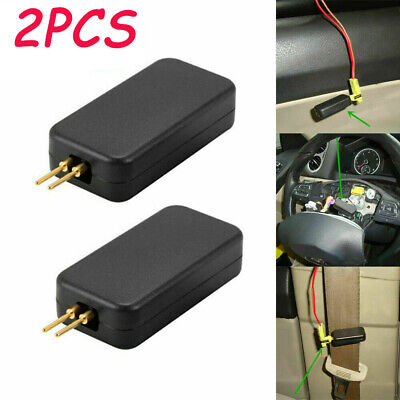 2PCS Car Airbag Simulator Emulator Resistor Bypass SRS Fault Finding Diagnostic