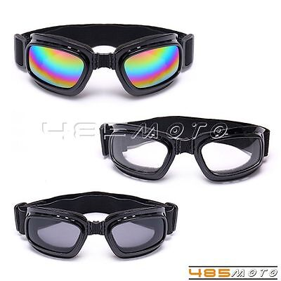 Cool Foldable Motorcycle Ski Snowboard Dustproof Sunglasses Goggles Eye (Cool Motorcycle Glasses)