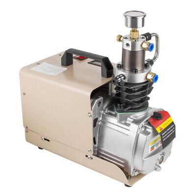 110v High Pressure Air Pump Electric Air Compressor For Airgun Scuba Rifle 30mpa
