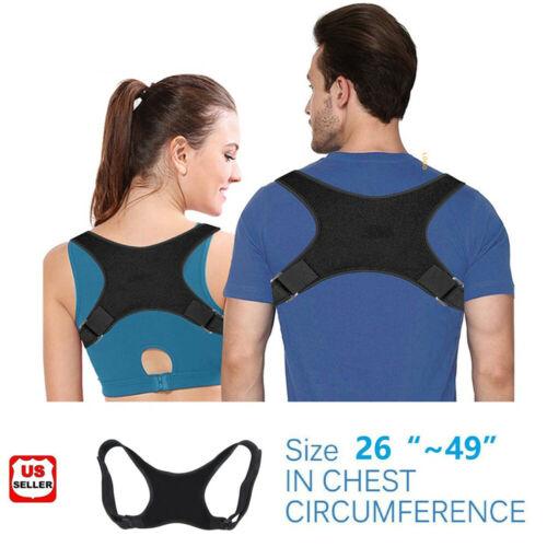 Adjustable Posture Corrector Back Shoulder Support Correct Brace Belt Men Women Health & Beauty
