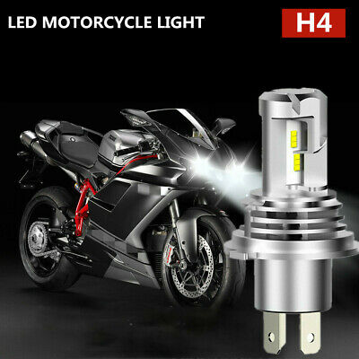 Pro H4 9003 HB2 LED Bulb Hi/Low Beam HID White Motorcycle Headlight High Power