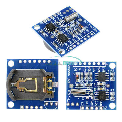 I2c Rtc Ds1307 At24c32 Real Time Clock Module For Avr Arm Pic Smd For Arduino
