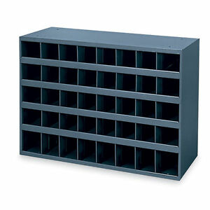 Superbe Metal 40 Hole Storage Bolt Bin Cabinet Compartment Nuts Bolts Fasteners  Screws