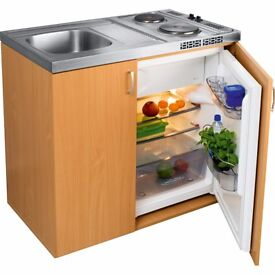NEW FRANKE Mini Kitchen 100 cm with sink, electric Mini 2 plates hob