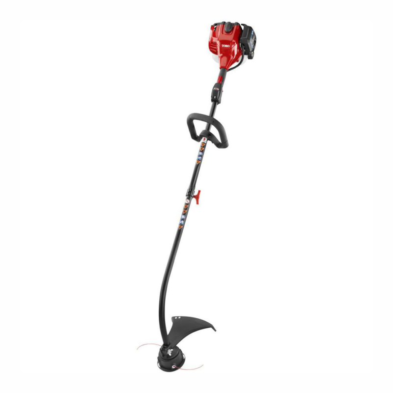 TORO Gas String Trimmer Curved Shaft 2 Cycle 25.4cc Weed Eat