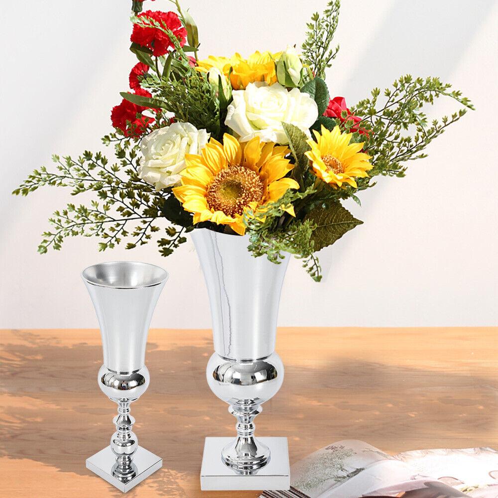 Vases Large Plated Luxury Flower Vase Display Urn Table Centrepiece 40 50cm Uk Home Furniture Diy Tohoku Morinagamilk Co Jp