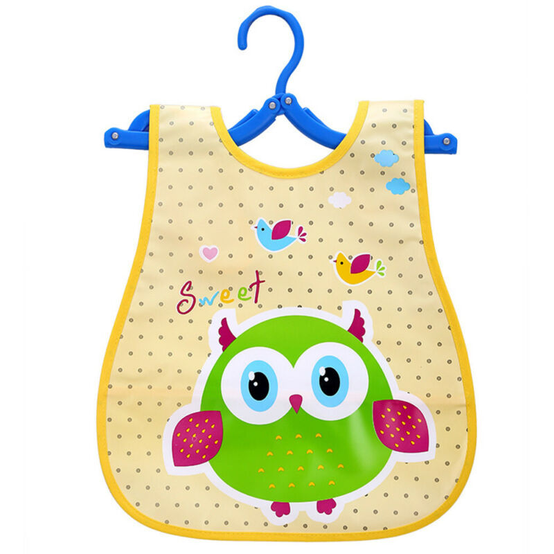 Newborn Cute Kids Bibs Baby Soft Cartoon Bib Toddler Waterproof Saliva Dripping G