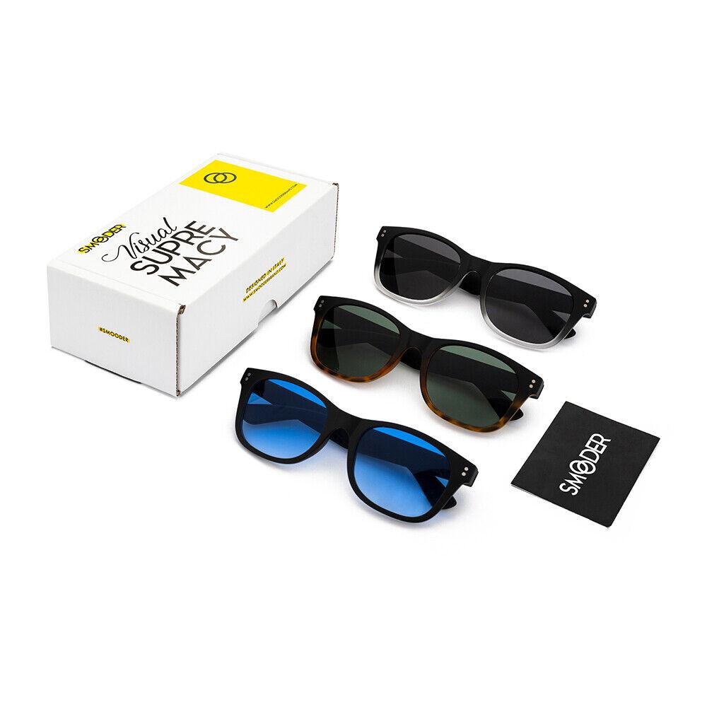 Deal Moda Uomo eBay.it Tris Occhiali Da Sole Smooder Pack Idol [premium] Uomo/donna Sportivi Fashion