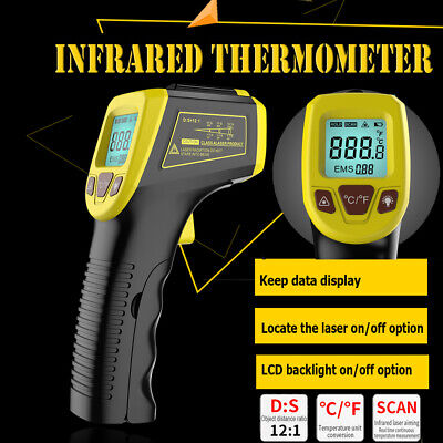 Non-contact Ir Laser Infrared Digital Temperature Thermometer Gun -58 To 1112