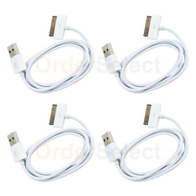4 NEW USB Charger Cable Cord for Apple iPod Nano Classic 1 2 3 4 5 6 GEN 50+SOLD