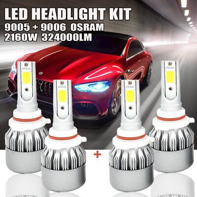 9005 9006 Combo Led Headlight Bulbs For Honda Civic 2004 2013 High   Low Beam Us