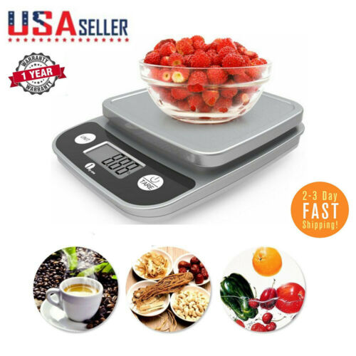 1Byone 5kg/11lb Electronic Digital Kitchen Scale for Food Di