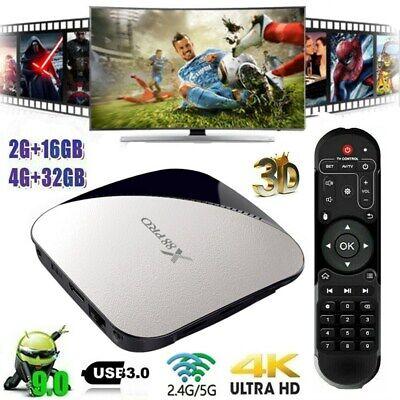 X88 Pro Smart TV Box Android 9.0 16/32GB Quad Core Dual WIFI BT 3D Media 4K