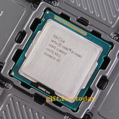 Original Intel Core i5-3450S 2.8GHz Quad-Core (BX80637I53450S) Processor CPU