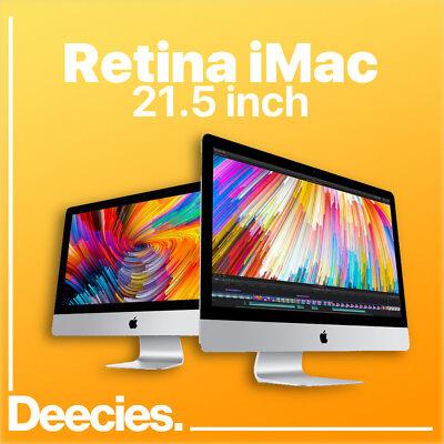 "NEW Apple Retina iMac 21"" 4k 3.4Ghz i5 16GB Ram 1TB Fusion Windows 10 21.5"" Mac"