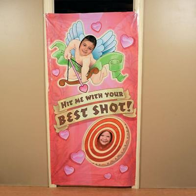Cupid Valentines Day Photo Door Cover ~ Hit Me With Your Best Shot Photo Favor](Halloween Your Photo)