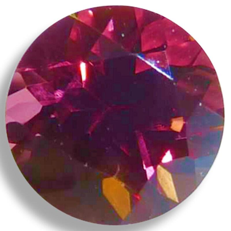 Natural Rhodolite Garnet Pink,Rose Round Faceted Loose Gemstones Fine Cut AA+