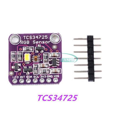 Tcs34725 Rgb Color Sensor Recognition Ir Blocking Filter White Light For Arduino