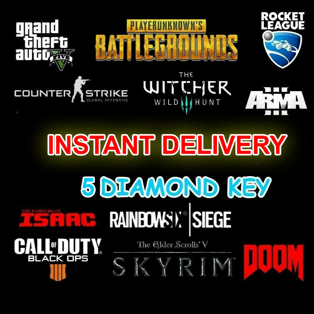 5 DIAMOND Random Steam Keys Worth more than 80$ ⭐INSTANT D