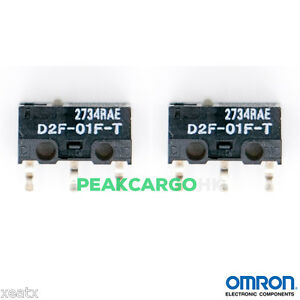 2-PCS-OMRON-D2F-01F-T-Ultra-Subminiature-Switches-RAZER-Logitech-APPLE-MS-Mouse
