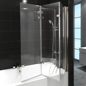 Badewannen duschwand aus glas g nstig online kaufen bei ebay - Faltwand dusche ...