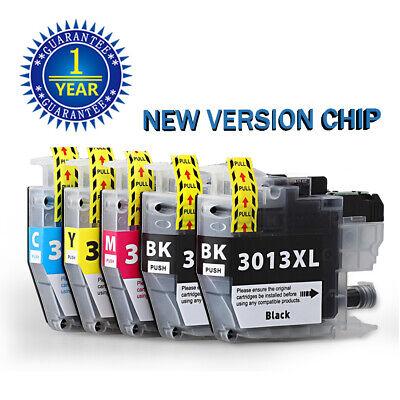 5pk LC3013 Ink Cartridges for Brother LC3011 MFC-J491DW J497DW MFC-J895DW J690DW