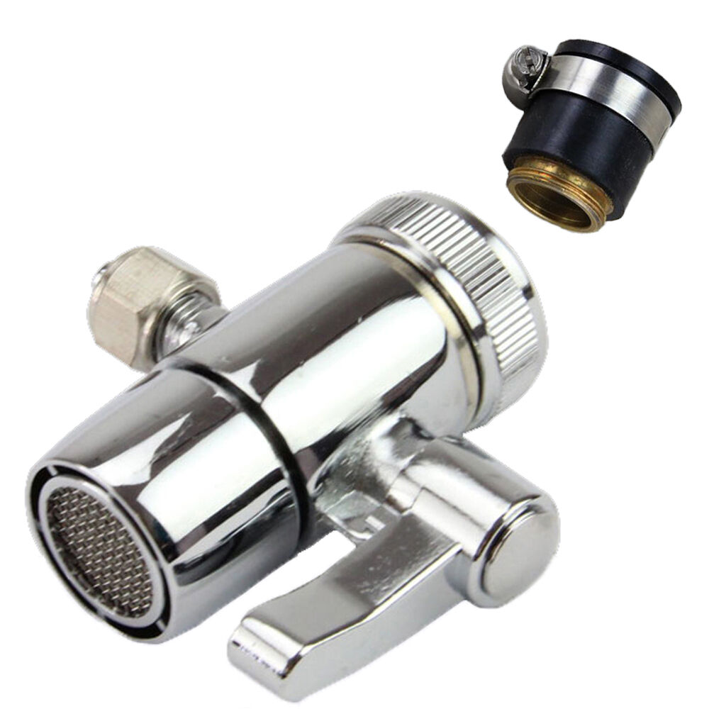 """Counter Top Water Filter Faucet Tap Universal Adapter 1/4"""" O"""