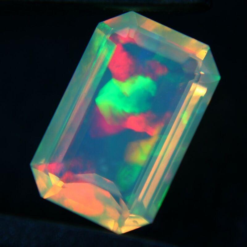 2.25 ct Finished Ethiopian Opal Gemstone 12x8x5 mm - Exact Lot Shown op168