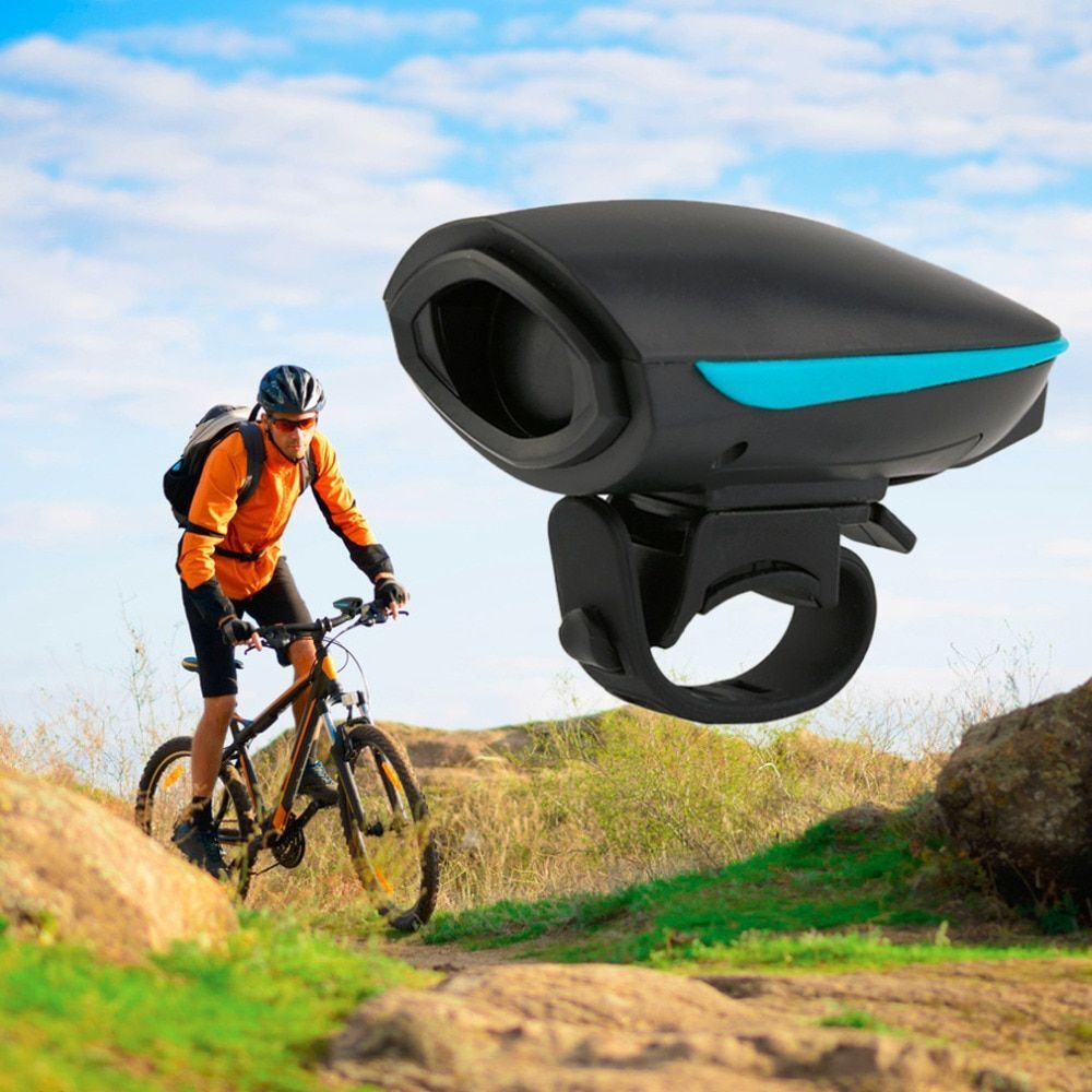 123dB Electric Horn Loud Bike Bell Cycling Bicycle Handlebar Ring Bells Alarm US