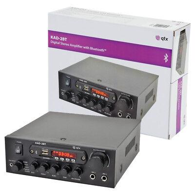 Compacto Bluetooth Digital Amplificador Estéreo Con Fm Radio ,USB Y SD -...