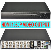 16 Channel DVR HDMI