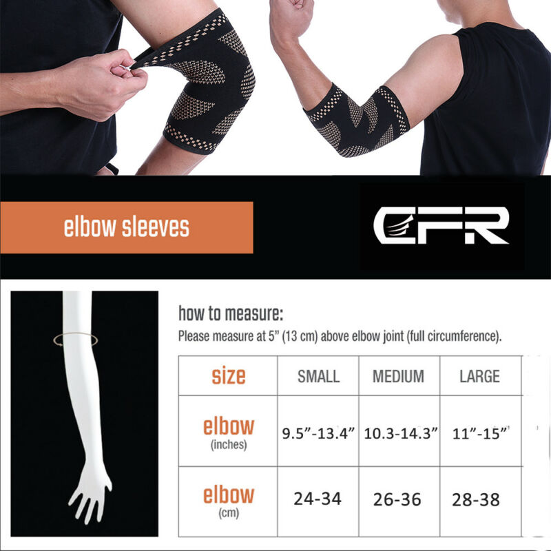 Copper Brace Compression Sleeve Support