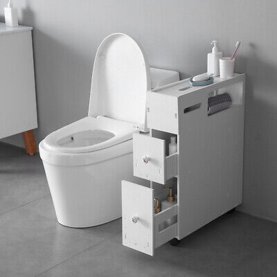 New Movable Bath Toilet Cabinets Drawers Free-Standing Toilet Paper Holder - Freestanding Bathroom Cabinets