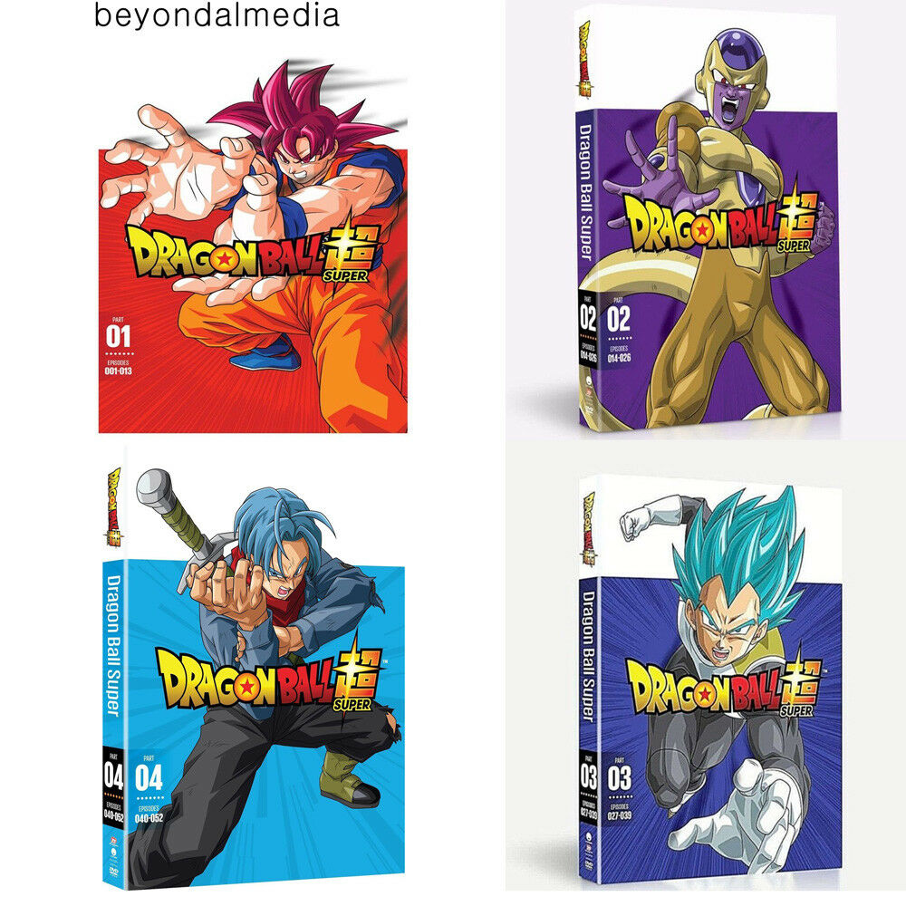 Dragon Ball Super Part 1-2-3-4 dvd set Combo New Sealed  Bundle Combo Set DVD