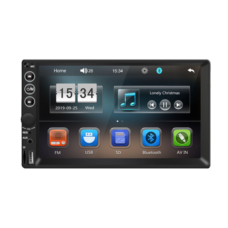 Ezonetronics 2DIN 7 inch Car Stereo FM only Bluetooth MP3 MP4 Player with USB SD