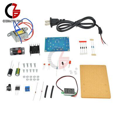 Lm317 Adjustable Voltage Power Supply Board Kit Electronics Diy 1.25v-12v
