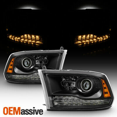 2013-2018 Dodge Ram 1500/2500/3500 Headlights ( Factory Projector Style Only )