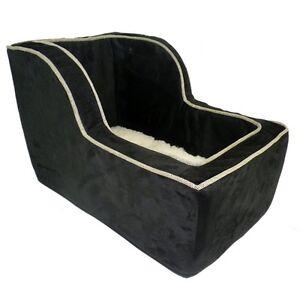 snoozer large high back suv console pet dog car booster seats black herringbone. Black Bedroom Furniture Sets. Home Design Ideas