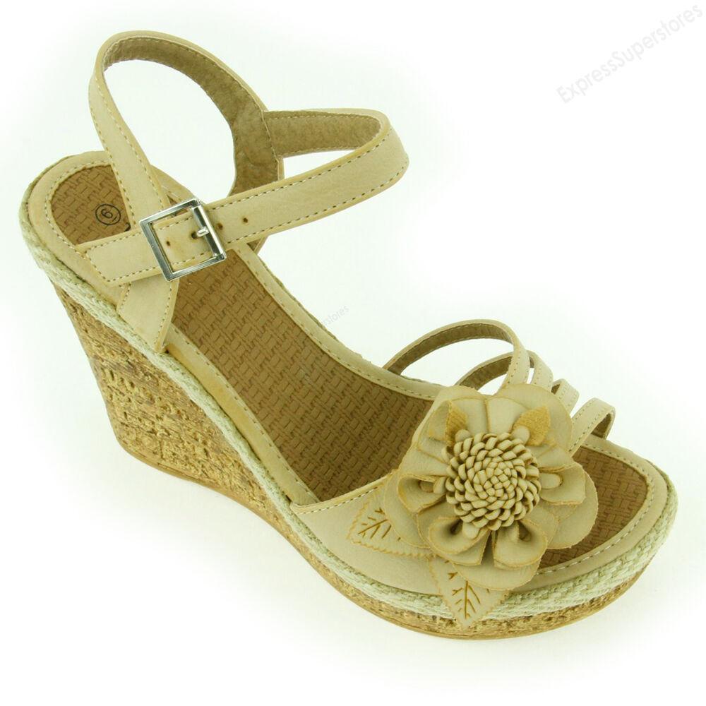 Womens Fashion Sandals Cute Wedge Heel Sandal Platform Open Toe Wedges Shoes