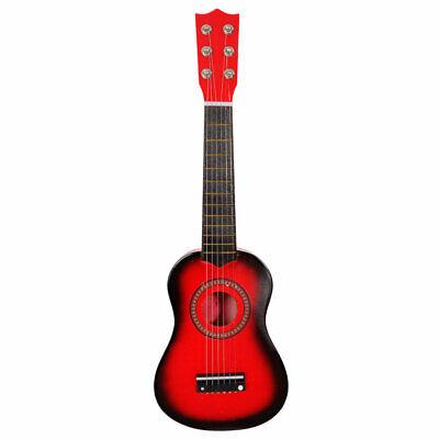 "21"" Kids Acoustic Guitar Children Beginner's Music instrument w/ Pick String Red"