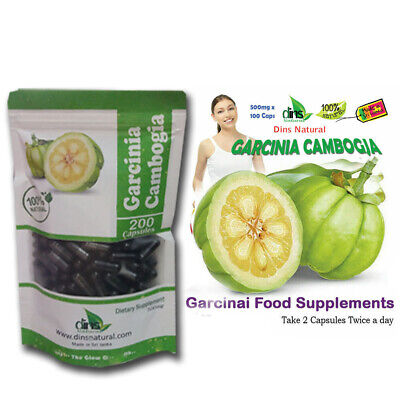 Garcinia Cambogia Capsules for Weight Loss Diet Pills Better 100 Caps x