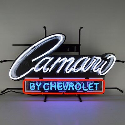 Camaro By Chevrolet Neon Sign Chevy 5CAMCH w/ FREE Shipping