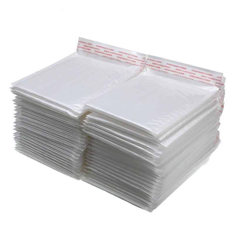 6x10 in Poly Bubble Mailers #0 Self Seal Padded Envelopes Opaque Shipping Bags